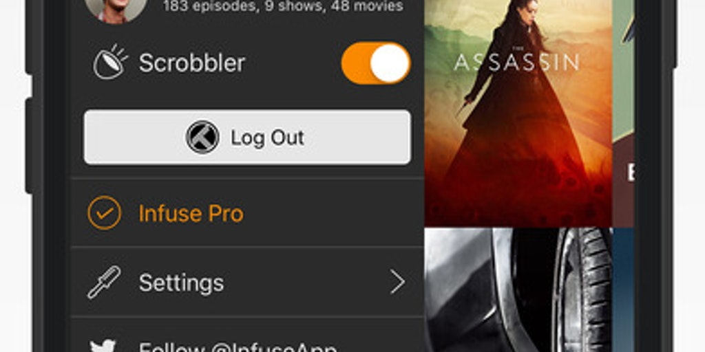 Infuse Pro 5 - The beautiful way to watch almost any video