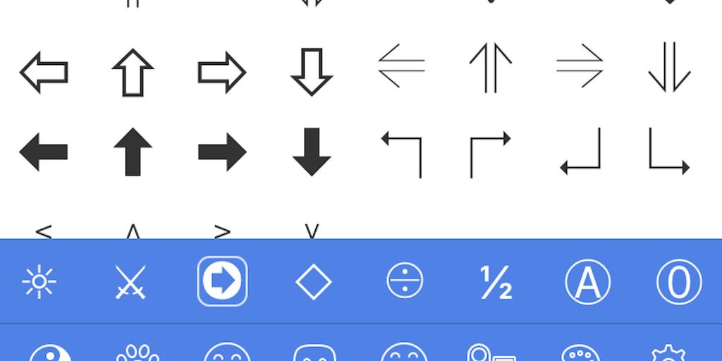 Symbol Pad - Easily copy/paste special symbols and ... Symbols Copy And Paste App
