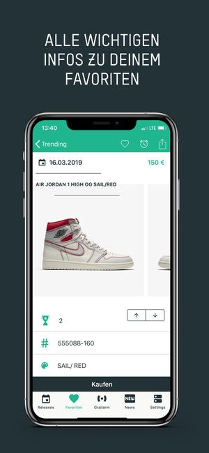 Grailify - Stay up to date with the latest sneaker releases 👟 | Product Hunt