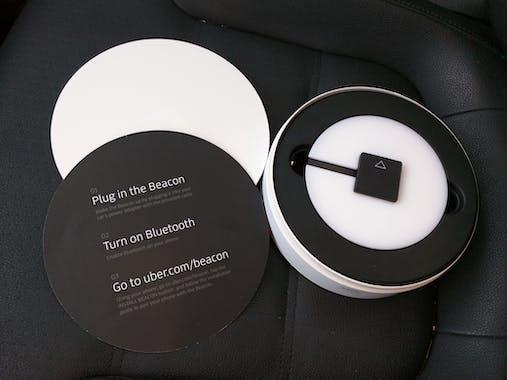 uber beacon product hunt. Black Bedroom Furniture Sets. Home Design Ideas