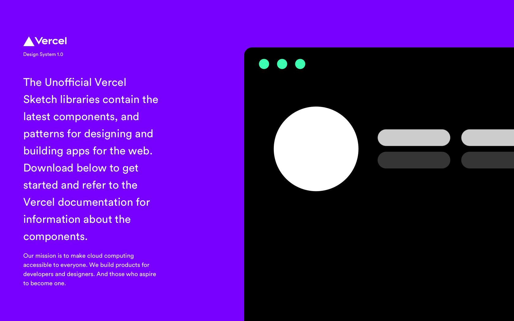 Sketch Libraries For Ui Designers Based On Vercel Design System For Ui Designers Product Hunt