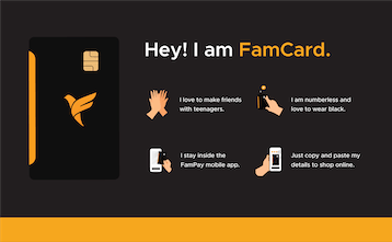 FamPay Numberless Card - India's first neobank for teenagers ...