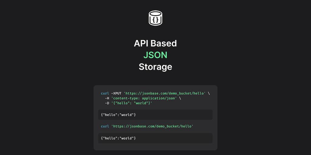 JSONBase - API based JSON storage | Product Hunt