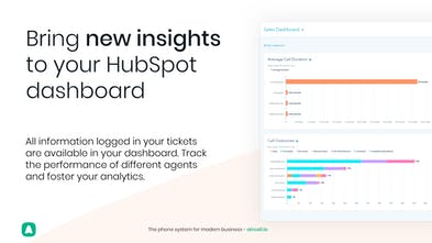 Aircall for HubSpot - Document and organize every phone call