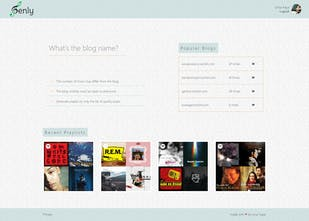 Genly - Generate Spotify playlists based on Tumblr blogs