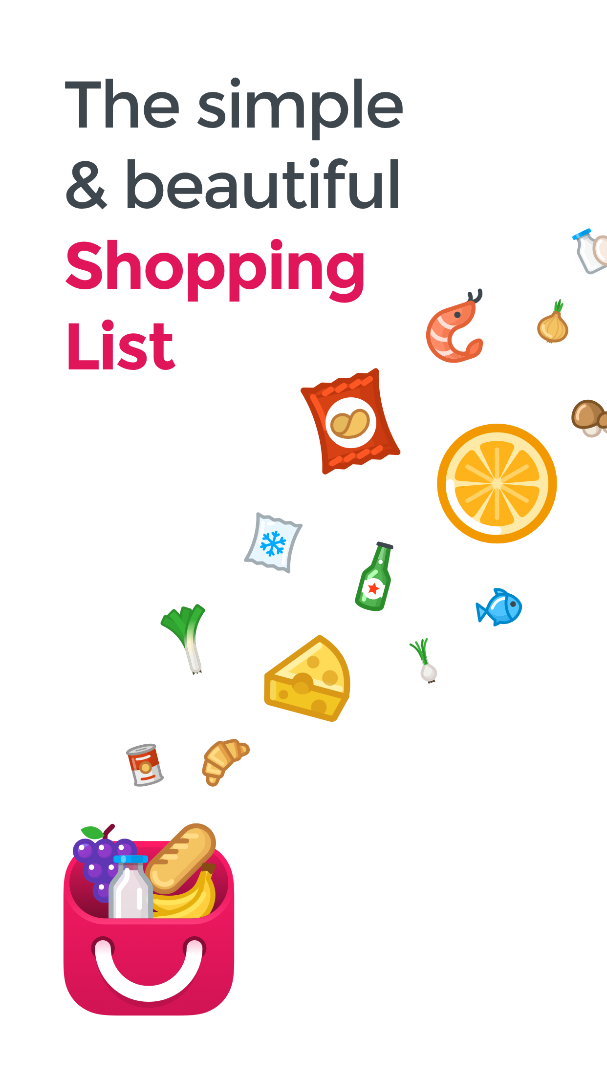 Airrends - Simple and beautiful shopping list app for iOS