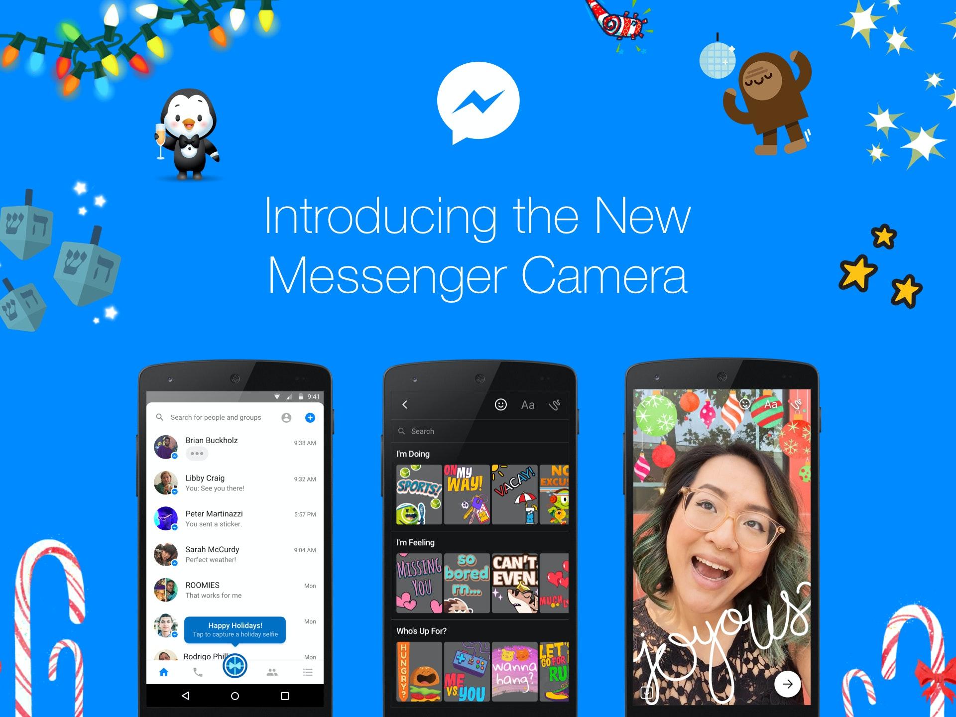New Messenger Camera