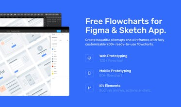 Greyhound Flowcharts - Free flowcharts constructor for Figma