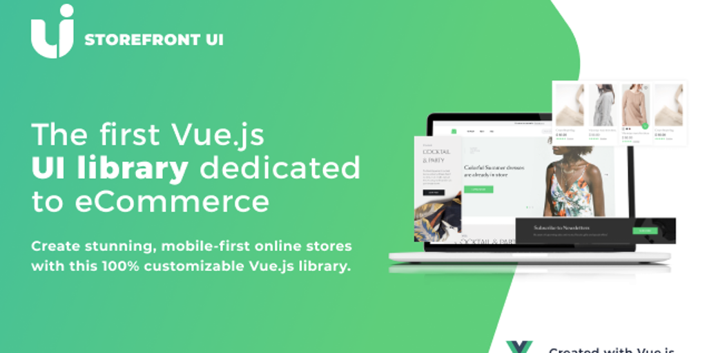 Storefront UI - The first Vuejs UI library dedicated to eCommerce | Product Hunt