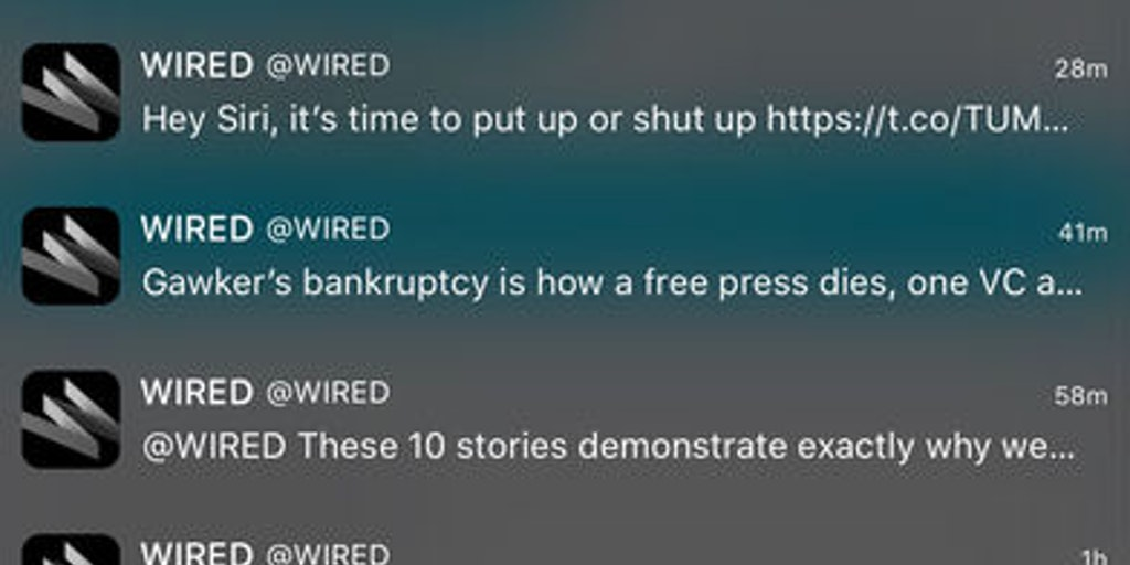 Tweety - Check your Twitter timeline from your iOS lock screen