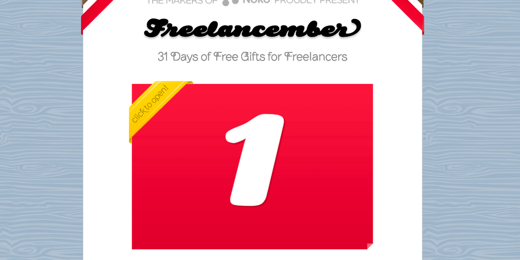 Freelancember - 31 days of free gifts for freelancers | Product Hunt