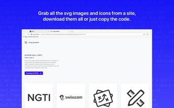 svg-grabber - A chrome chrome extension to grab SVG images