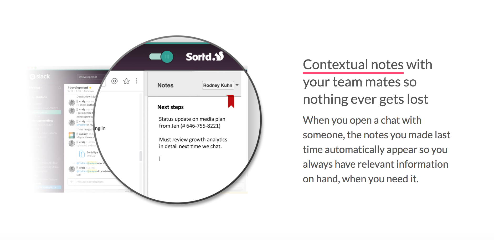 Sortd for Slack - Get Trello-style project boards right in your Slack!