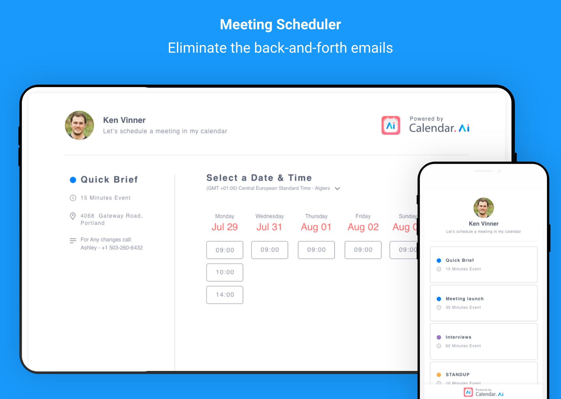 Calendar.AI Product Hunt Image