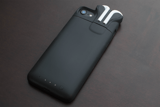 premium selection 560f5 f6bd6 PodCase - Slim iPhone battery case that keeps your Airpods charged ...