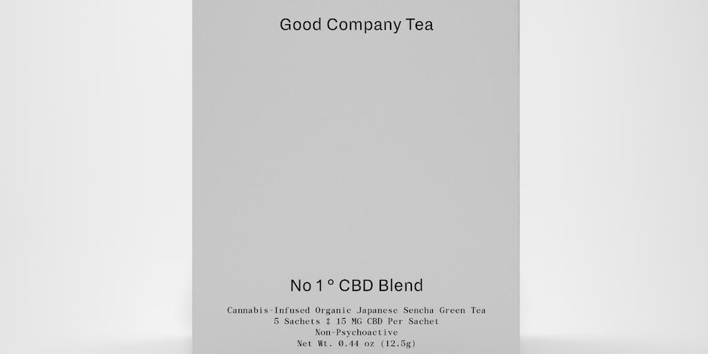 Good Company Tea - Premium CBD organic tea For days well spent   Product Hunt