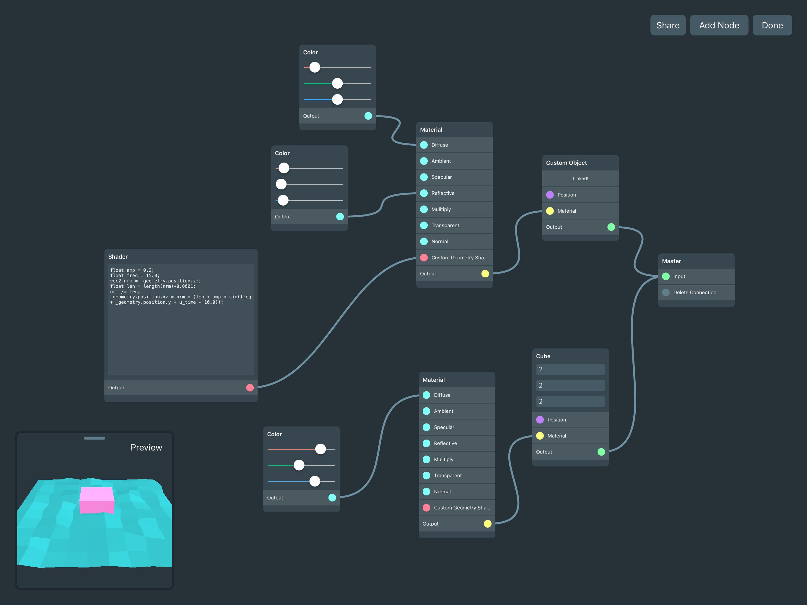 Yttrium - Quickly design AR and 3D prototypes on iOS