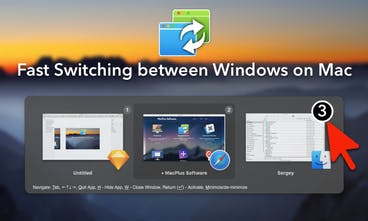 WindowSwitcher for Mac - Powerful window manager application for Mac