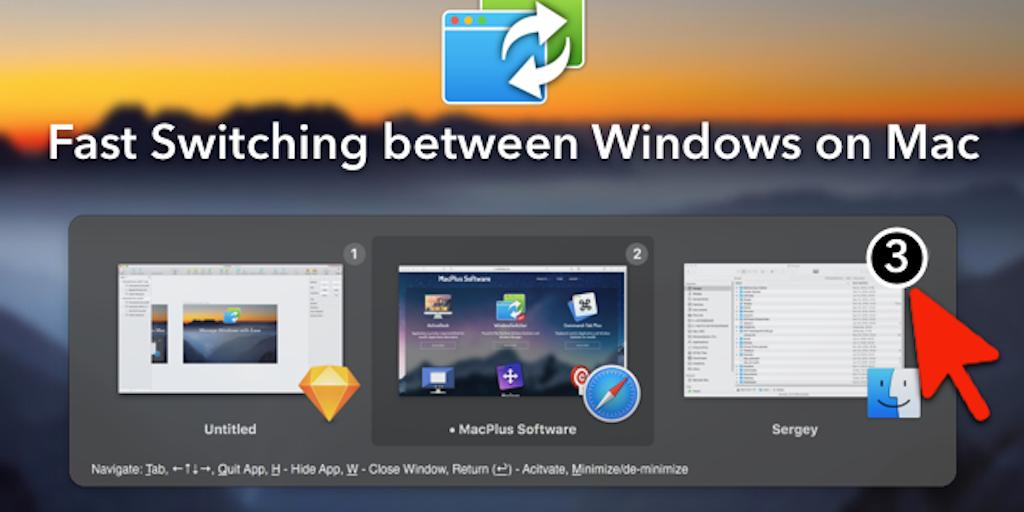 WindowSwitcher for Mac - Powerful window manager application