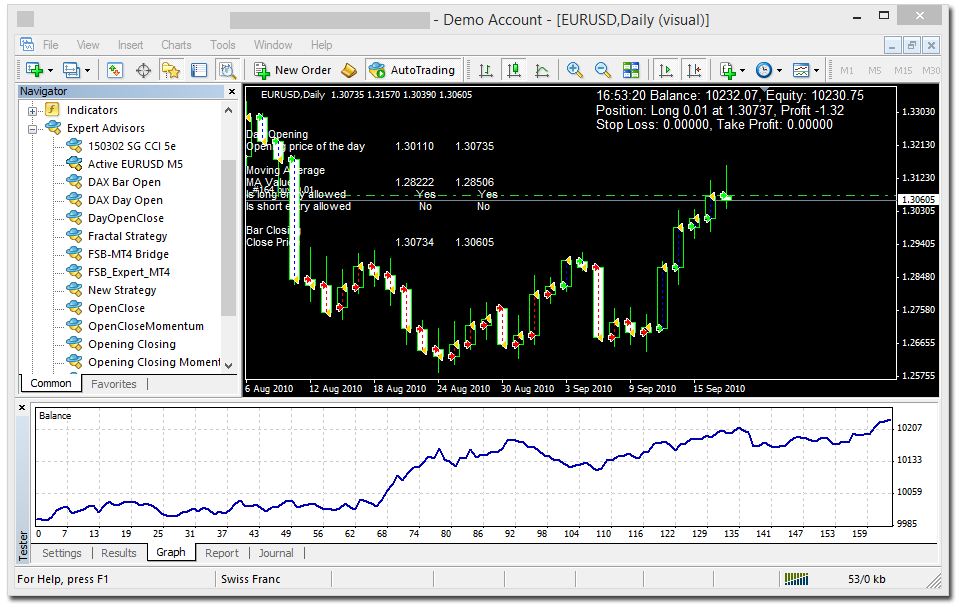 Forex strategy builder github