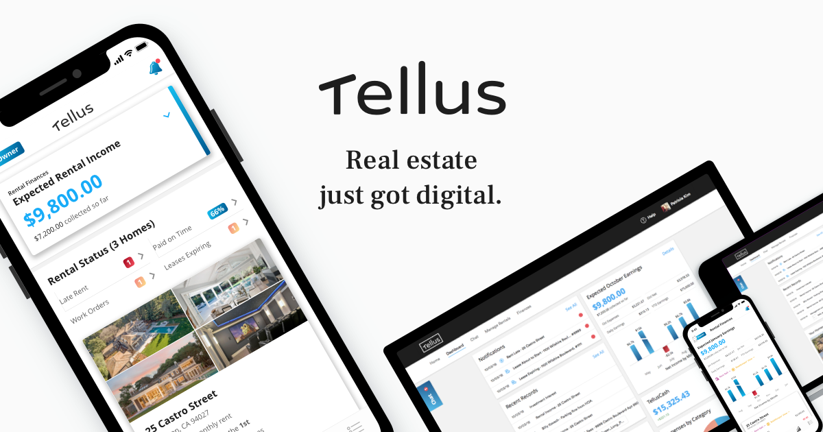 Tellus - An all in one rental management app