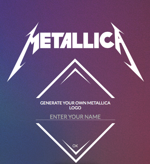 Metallica Logo Generator - Create your own Metallica logo | Product Hunt