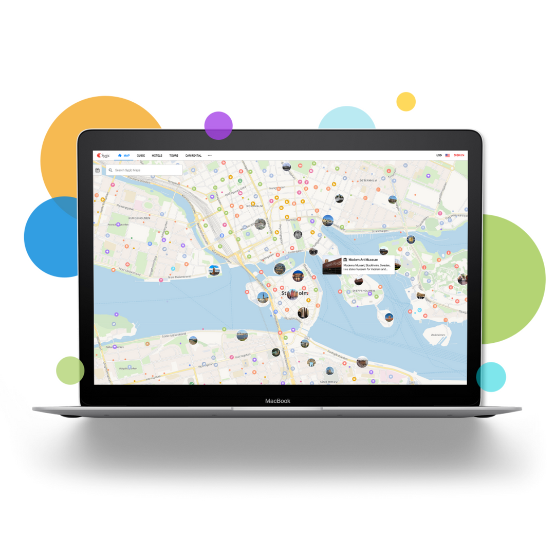 Sygic Maps - The world's first online maps designed for