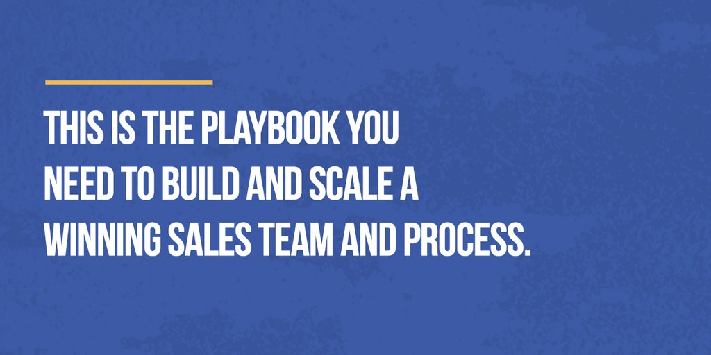 The 2020 Startup Sales Playbook - The definitive guide for early-stage sales teams 🚀 | Product Hunt