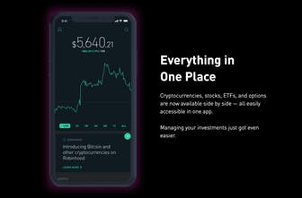 cryptocurrency in robinhood