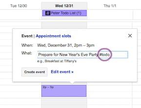 todo - A todo list inside your Google Calendar | Product Hunt