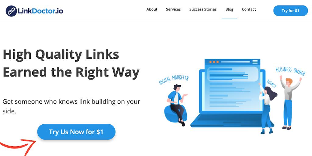 LinkDoctor™ - Ethical white hat link building   Product Hunt