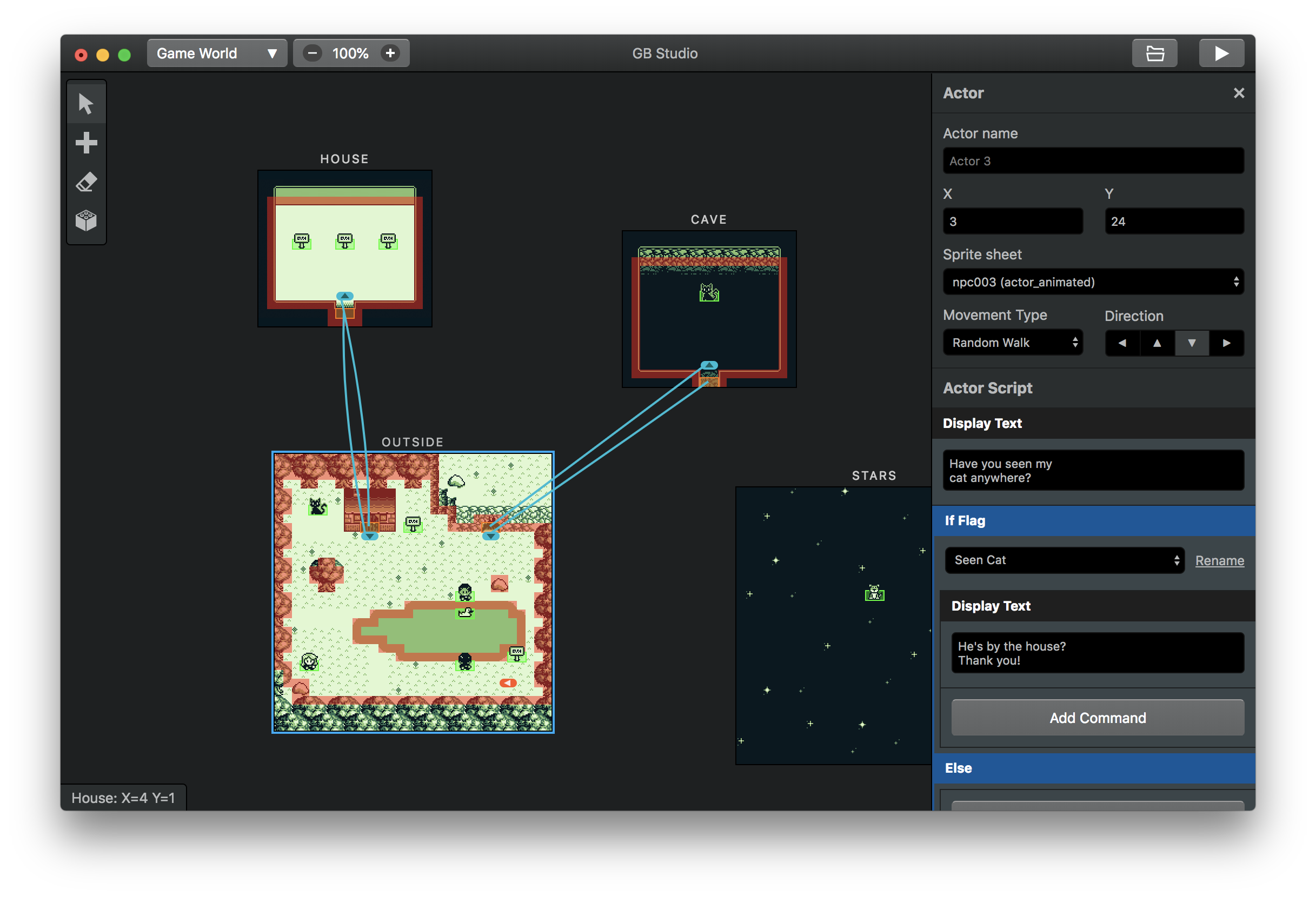 GB Studio - A free and easy to use game creator for the GameBoy