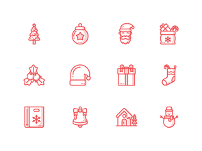 Christmas Icons Holiday Themed Icon Pack For Free
