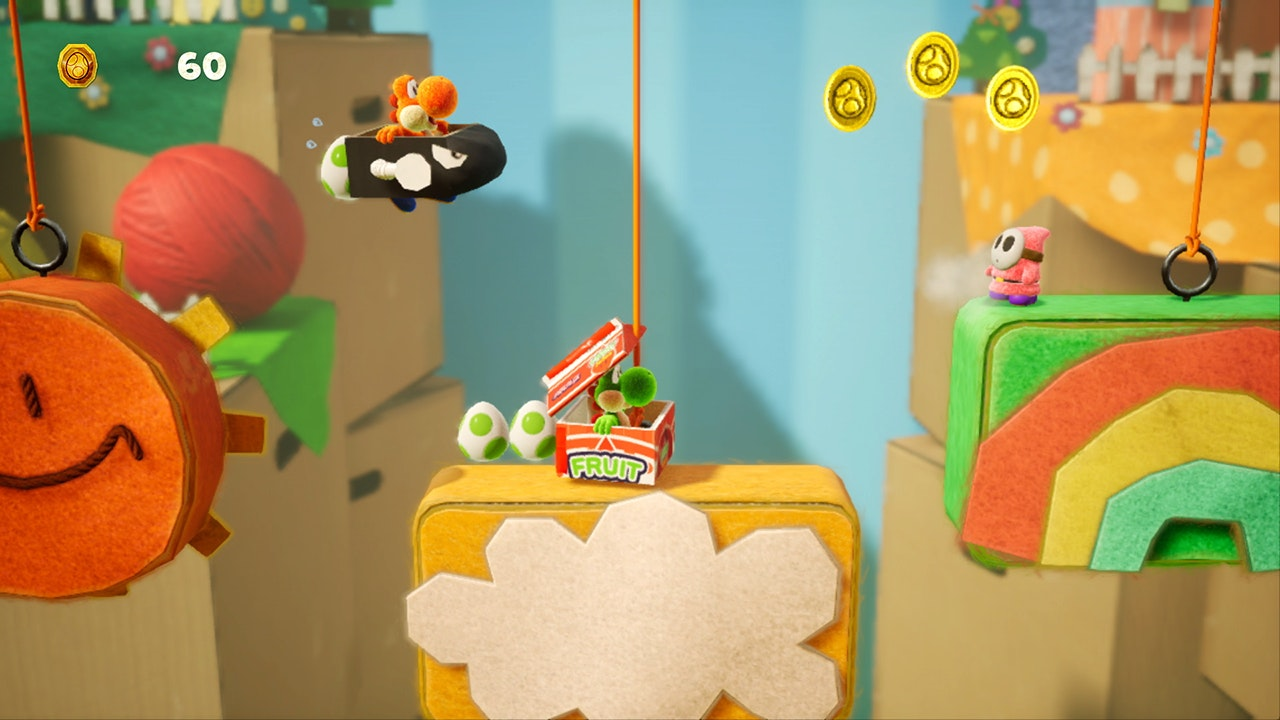 Yoshi's Crafted World - A brand new Yoshi game from Nintendo 🕹