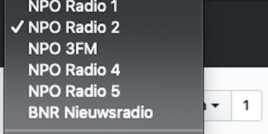 RadioBar - Open source macOS menubar app to listen to streaming radio   Product Hunt