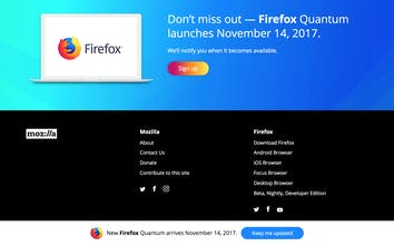 Firefox Quantum - The newest, fastest version of Firefox yet