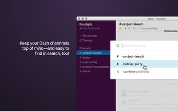 Dash for Slack - Channel your energy   Product Hunt