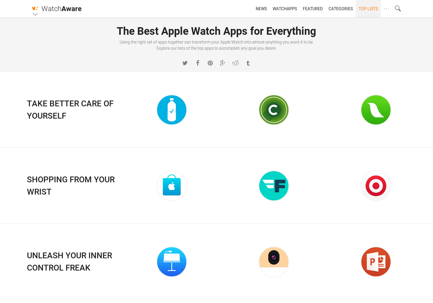 The Almost Best Collection Of Apps And >> Best Apple Watch Apps A Curated List Of Best Apple Watch