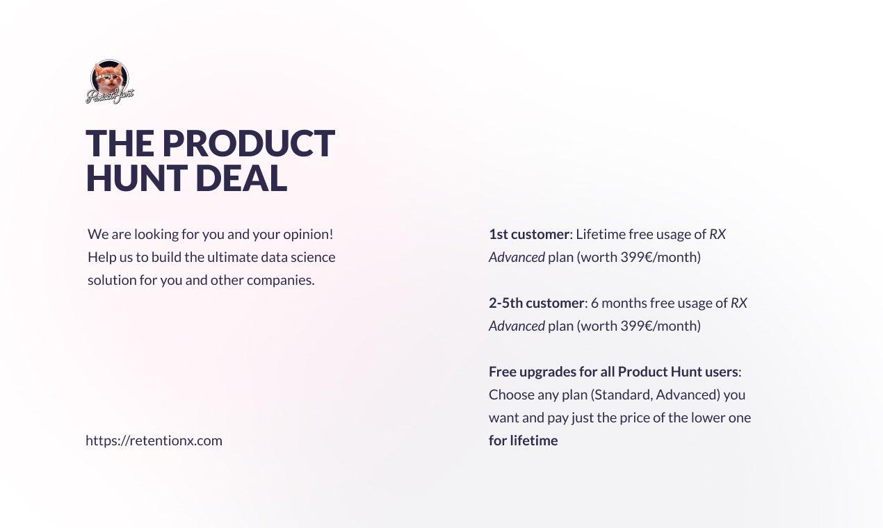 RetentionX Product Hunt Image