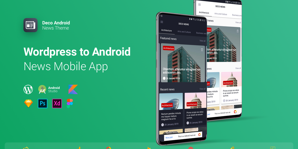 Deco News for Android - Create an Android app from your Wordpress without any coding | Product Hunt