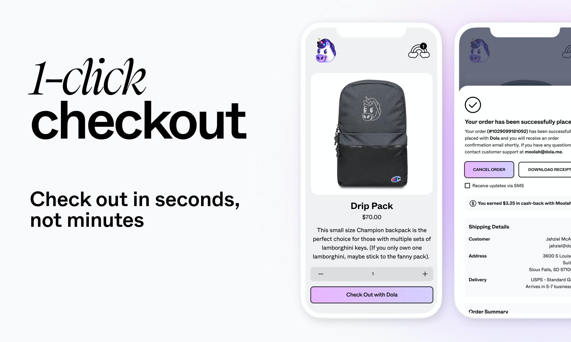 Dola Beta Product Hunt Image