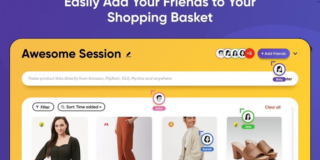 Shopping Party - Add your friends to your shopping cart | Product Hunt
