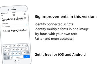 WhatTheFont - Shazam for fonts! Identify fonts with your