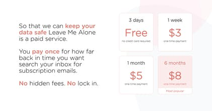 Leave Me Alone - Easily unsubscribe from spam emails