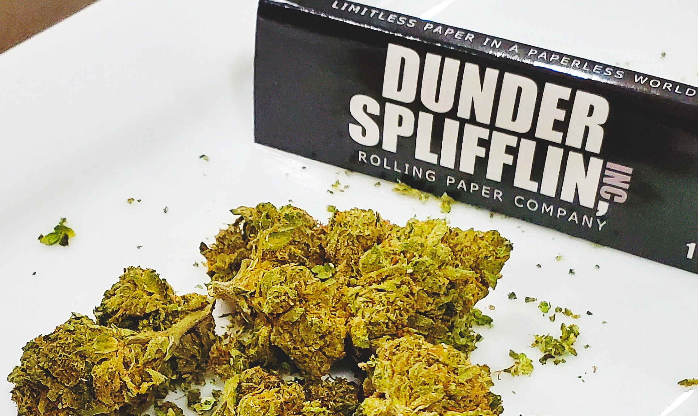 Dunder Splifflin - The Office, but wrapping papers for your 🌿