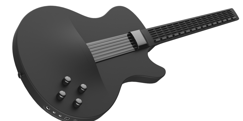 mi guitar a new type of guitar that you can pick up play instantly product hunt. Black Bedroom Furniture Sets. Home Design Ideas