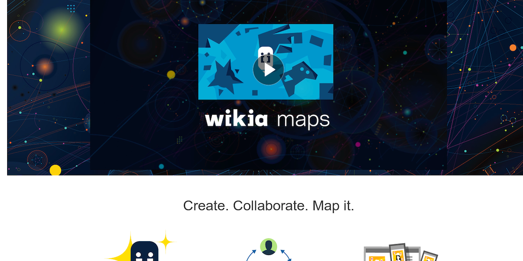 Wikia Maps - Product Hunt on