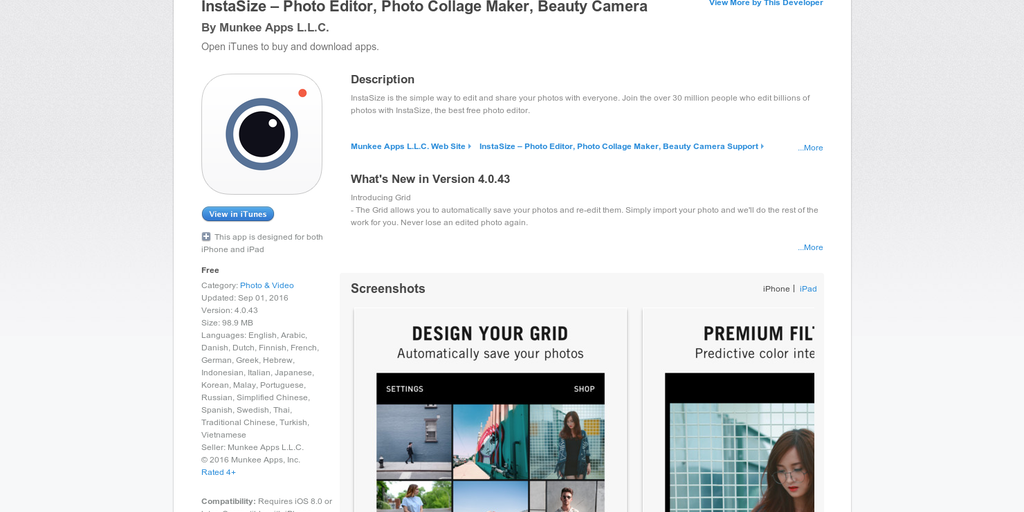 InstaSize - Post Entire Photos on Social Media | Product Hunt