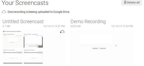 Screencastify - Record screencast in your Chrome tab