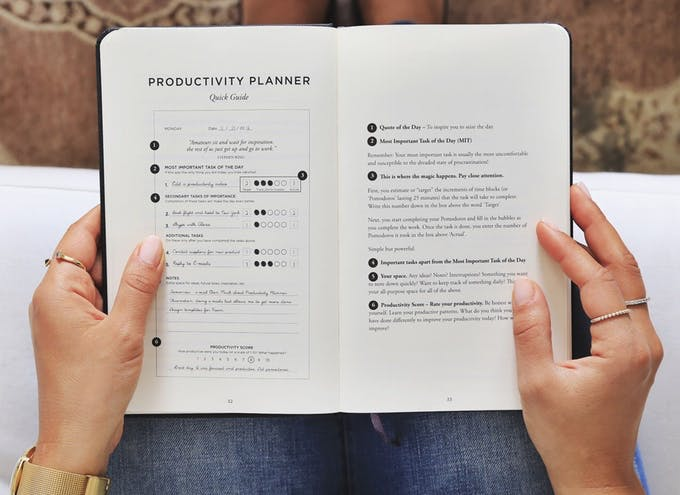 Productivity Planner Product Hunt - Productivity planner review